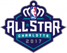 NBA All-Star Game 2016-2017 Unused Logo decal sticker