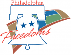 Philadelphia Freedoms 2005-2009 Primary Logo decal sticker