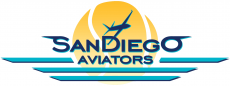 San Diego Aviators 2014-Pres Primary Logo decal sticker