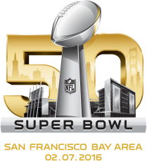 Super Bowl 50 Logo decal sticker
