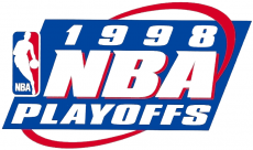NBA Playoffs 1997-1998 Logo decal sticker