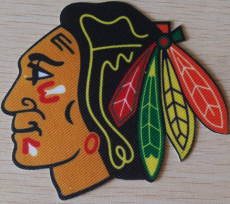 Chicago Blackhawks Embroidery logo 01