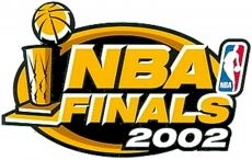 NBA Finals 2001-2002 Logo decal sticker