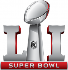 Super Bowl LI Logo decal sticker