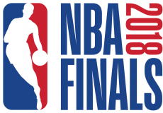 NBA Finals 2017-2018 Logo decal sticker