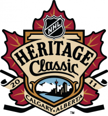 NHL Heritage Classic 2010-2011 Logo decal sticker