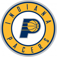 Indiana Pacers 2017-2018 Pres Primary Logo iron on sticker
