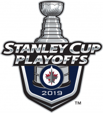 Winnipeg Jets 2018 19 Event Logo iron on sticker