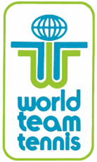 World TeamTennis 1974-1978 Alternate Logo decal sticker