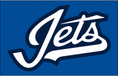 Winnipeg Jets 2018 19-Pres Jersey Logo iron on sticker