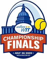 World TeamTennis 2009 Special Event Logo decal sticker