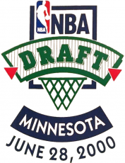 NBA Draft 1999-1900 Logo decal sticker