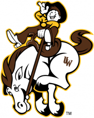 Wyoming Cowboys 2006-2012 Misc Logo decal sticker