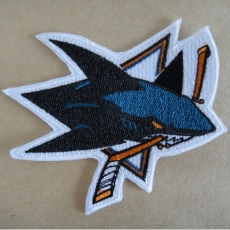 San Jose Sharks Embroidery logo