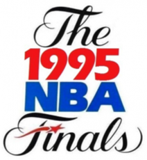 NBA Finals 1994-1995 Logo decal sticker