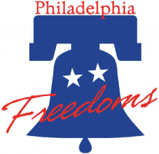 Philadelphia Freedoms 2001-2004 Primary Logo decal sticker