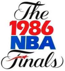 NBA Finals 1985-1986 Logo decal sticker