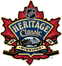 NHL Heritage Classic 2016-2017 Logo decal sticker