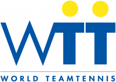 World TeamTennis 1994-1997 Primary Logo decal sticker