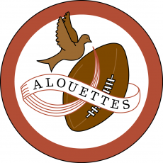 Montreal Alouettes 1946-1969 Primary Logo decal sticker