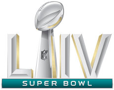 Super Bowl LIV Logo decal sticker