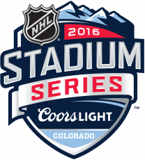 NHL Stadium Series 2015-2016 Logo decal sticker