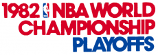 NBA Playoffs 1981-1982 Logo decal sticker