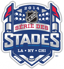 NHL Stadium Series 2013-2014 Alt. Language Logo decal sticker