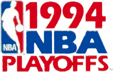 NBA Playoffs 1993-1994 Logo decal sticker
