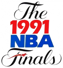 NBA Finals 1990-1991 Logo decal sticker