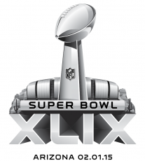Super Bowl XLIX Logo decal sticker