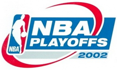 NBA Playoffs 2001-2002 Logo decal sticker