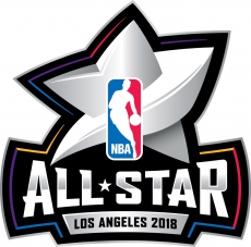 NBA All-Star Game 2017-2018 Unused Logo decal sticker