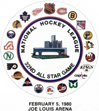 NHL All-Star Game 1979-1980 Logo iron on sticker