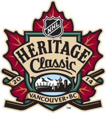 NHL Heritage Classic 2013-2014 Logo decal sticker