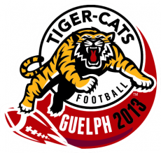 Hamilton Tiger-Cats 2013 Misc Logo decal sticker